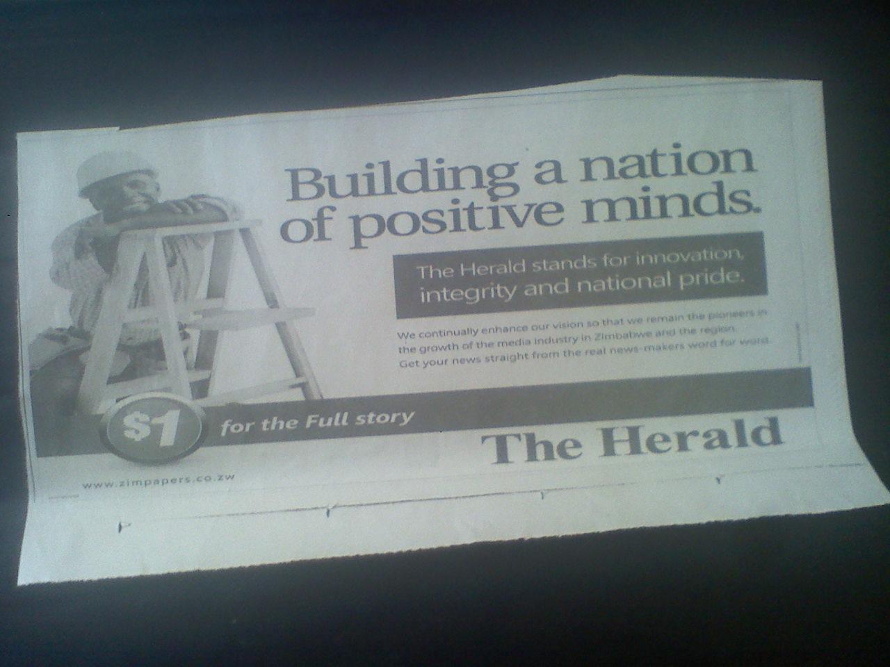 Newsday newspaper zimbabwe online dating 7