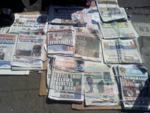 newsday daily news h metro and about 10 other zimbabwean newspapers