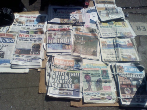 Zimbabwe newspapers1