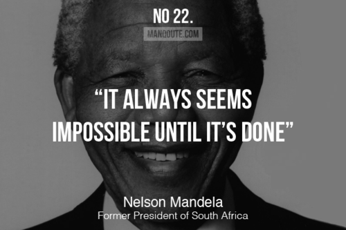 Nelson Mandela Said