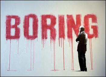 Boring-church-service