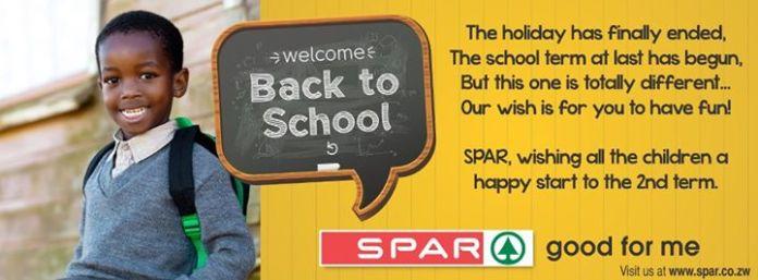 spar back to school