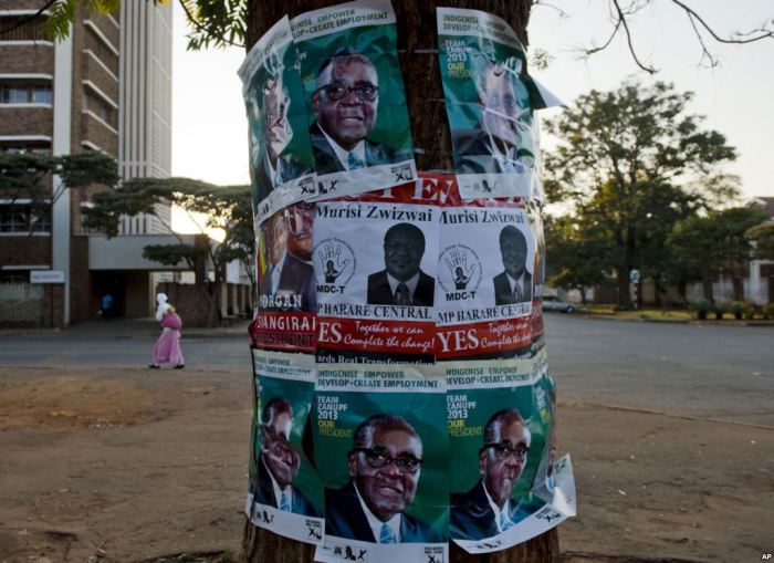 Presidential campaign...posters